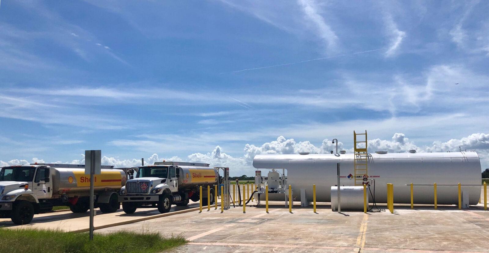 Fuel Farm at LLF