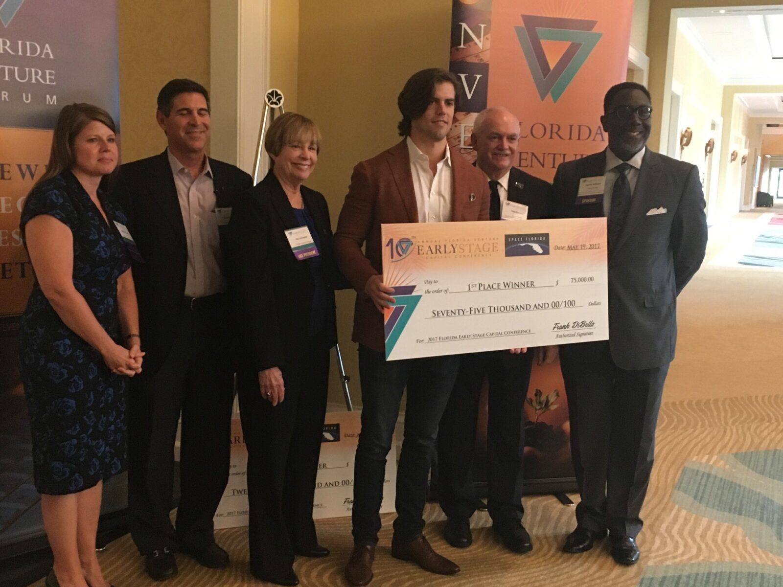 1st Place Winner 2017 FVF and Space Florida Event