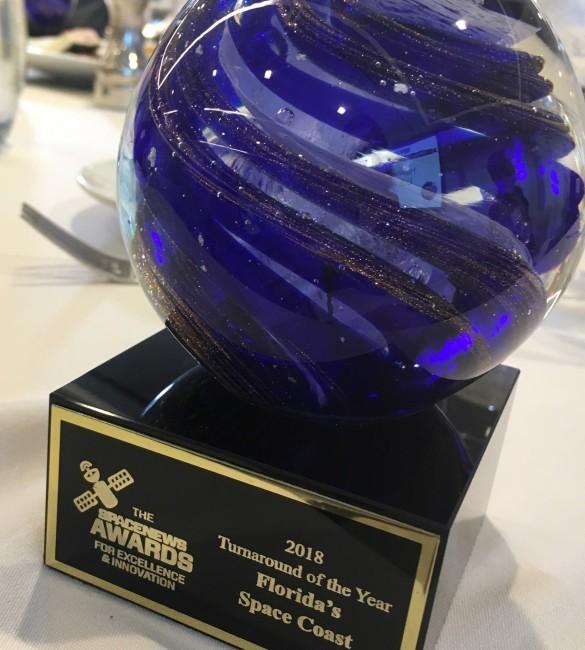 Space Florida Award by SpaceNews
