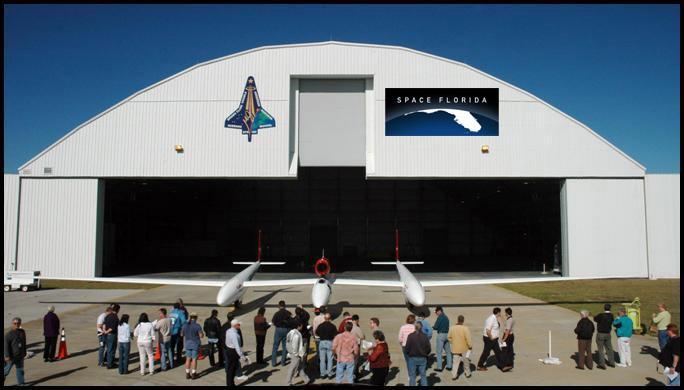 Reusable Launch Vehicle Hangar