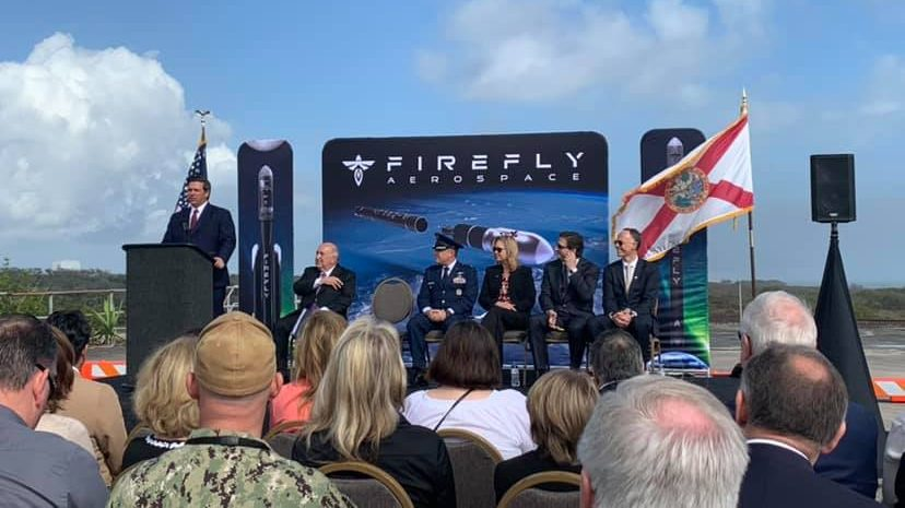 Firefly Aerospace Announcement at LC20