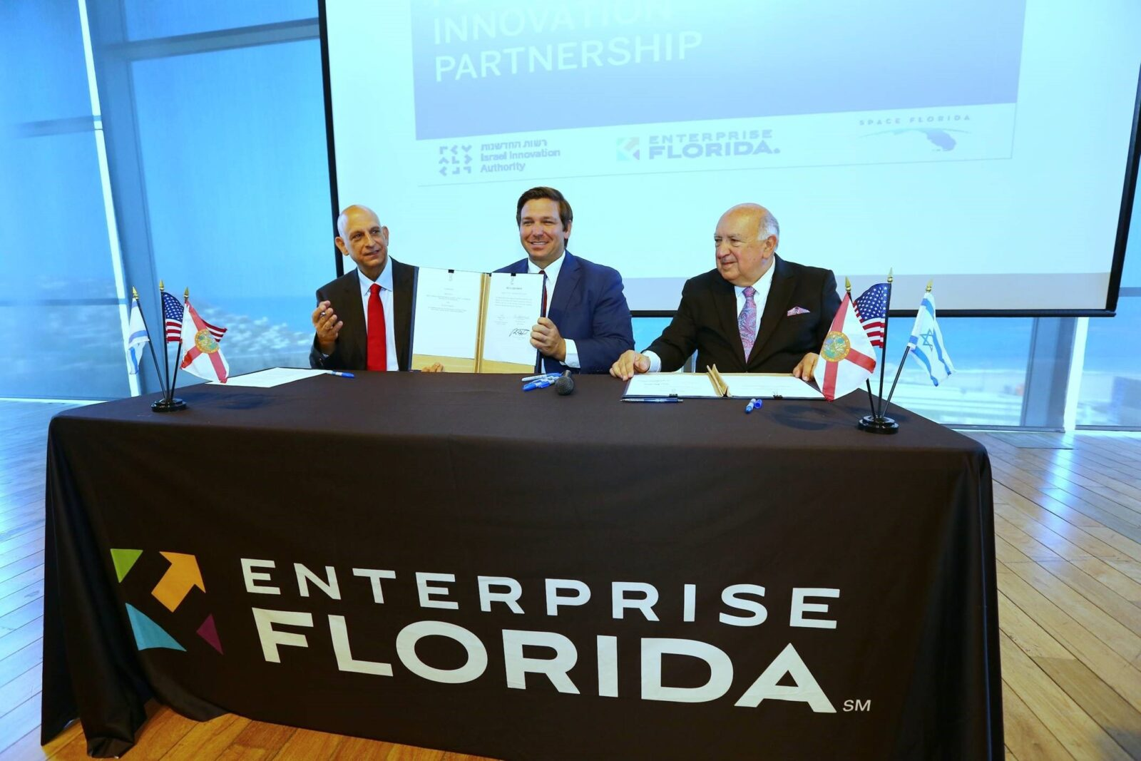 Florida Gov DeSantis signs 6th round of funding for Florida-Israel Program