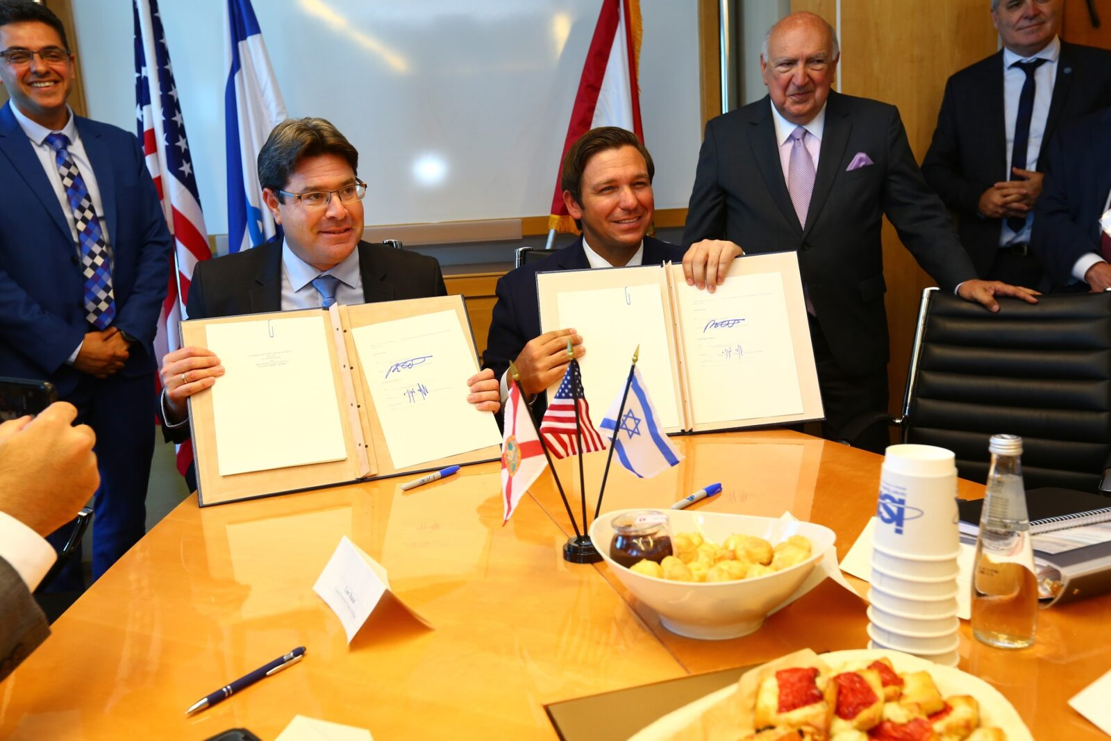 Governor Ron DeSantis Joins Space Florida and Israel Space Agency for Historic Memorandum of Understanding Signing