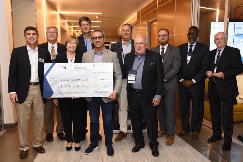 Grand Prize Winner of the 2019 Florida Aerospace Capital Forum Everix, Inc.